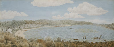 Augusta Hardy's Inlet: First settlement, May 1830