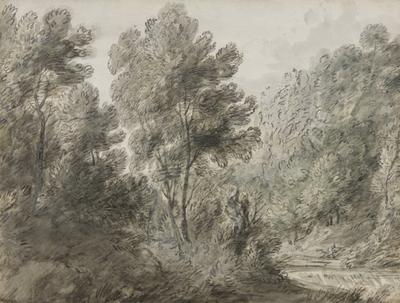 A wooded pool; c 1780s; 1969/00D2