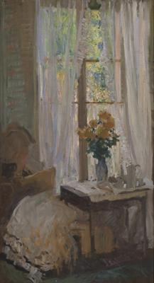 Interior with flowers