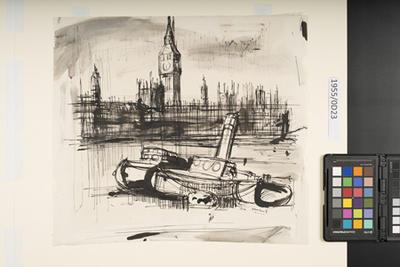 Big Ben, London; 1954; 1955/0D23