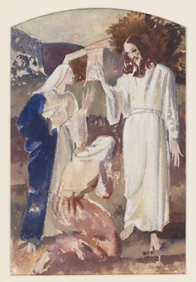The Resurrection (Study for an altarpiece)