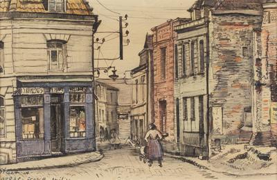 Street in Arras, France
