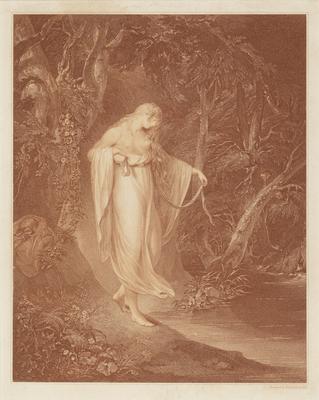 Maiden About to Bathe; c 1745-c 1815; 1947/0Q17