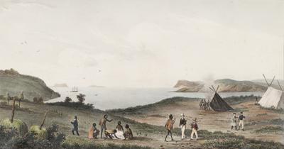 Vue du Port du Roi Georges (Nouvelle Hollande); 1833; 1962/0Q25