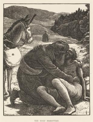The good samaritan; 1863; 1987/0233