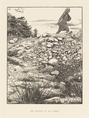 The parable of the sower; 1863; 1987/0237