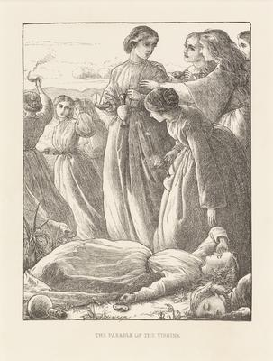 The parable of the virgins; 1863; 1987/0240