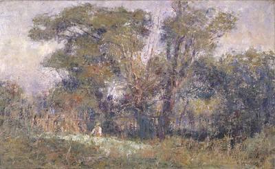 The old garden; c 1910; 1978/0P18