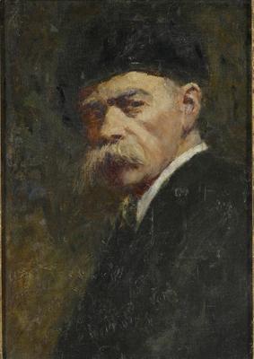 Self portrait; 1916; 1981/00P4