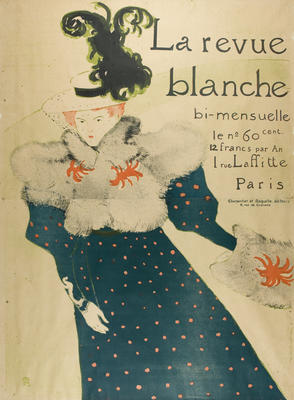 La revue blanche [The white review]; 1895; 1965/0Q11