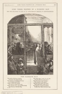 The sabbathe day; c 1860-c 1880; 1987/0258