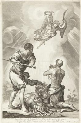 Beheading of St Christopher