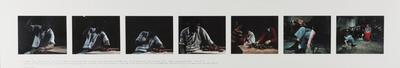 Cathartic action/social gestus 5., rules and displacement 2.; 1977; 1982/00J6.a-g