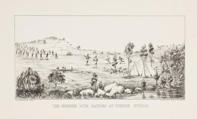The Skirmish with Natives of Pierre Springs; c 1864-c 1922; 1970/0Q78