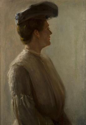 Mrs Tom Roberts; c 1906; 1949/0P12