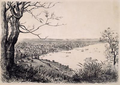 Perth. Western Australia from Mount Eliza; 1852; 1985/00Q1