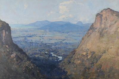 The Barron Gorge and sugar plains