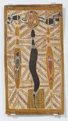 The Wawilag sisters and Yulungurr the rainbow serpent