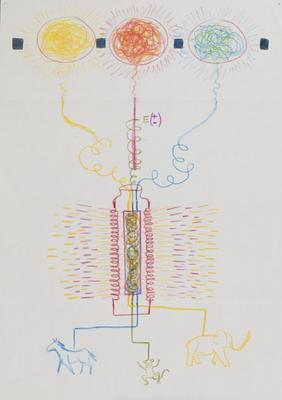 Untitled (suite of 6 study drawings)