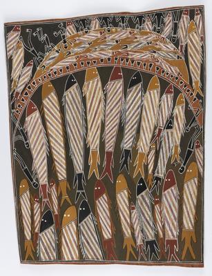 Wurrurrung - fishing net; 1985; 1985/0XP2