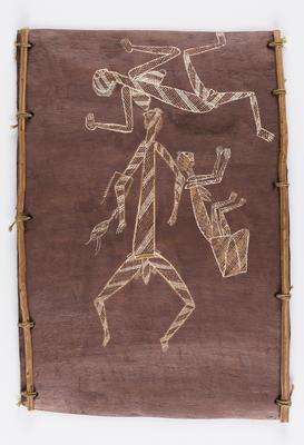 Spirit figures from cave paintings