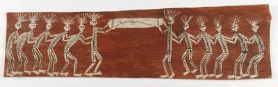 Lorgun, carrying bone coffin; 1967; 1967/0XP3