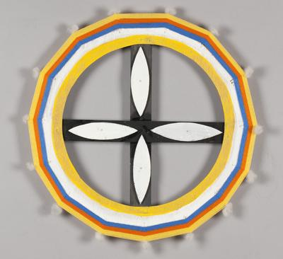 In the daytime I will go to my Land and get warm (Ilma - ceremonial emblem)