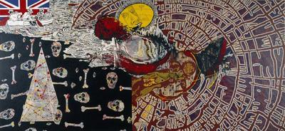 Painting for a New Republic (The inland sea); 1994; 1995/0055