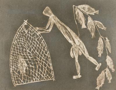 Man fishing (Waraguk)