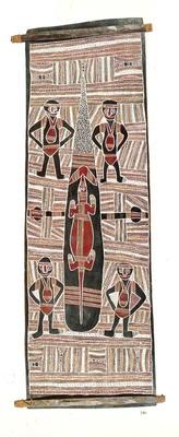 Wuyal, the sugar bag ancestral spirit; 1985; 1985/0XP5