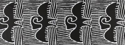 Textile length (Mangkaja design)