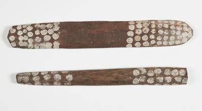 Clapsticks; 1967; 1967/0XA9.a-b