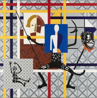 Home decor (Preston + De Stijl = Citizen) Half Figure; 1997; 1997/0115