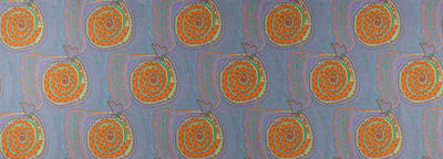 Kalpurtu - Snake pattern