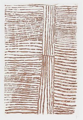 Traditional Tiwi motif XVI; 1999; 2001/0031